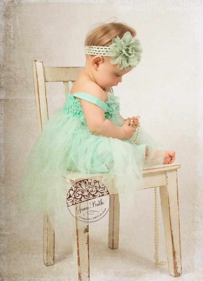 Wonneproppen 8 Monate jung, Garderobe Fotostudio