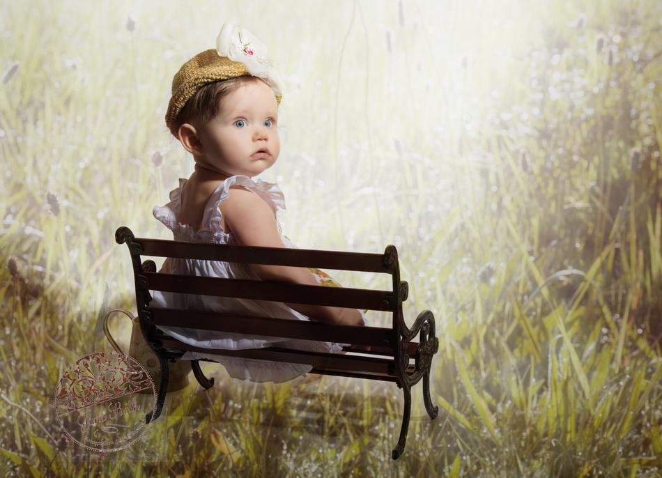 Wonneproppen 8 Monate jung, Outfit Fotostudio