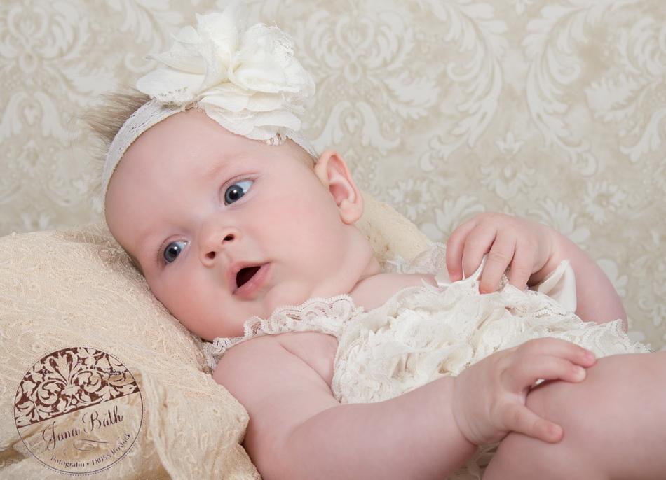 4 Monate altes Mädchen