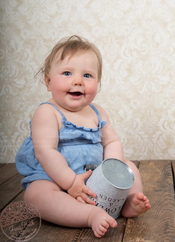 Wonneproppen Mädchen 8 Monate jung