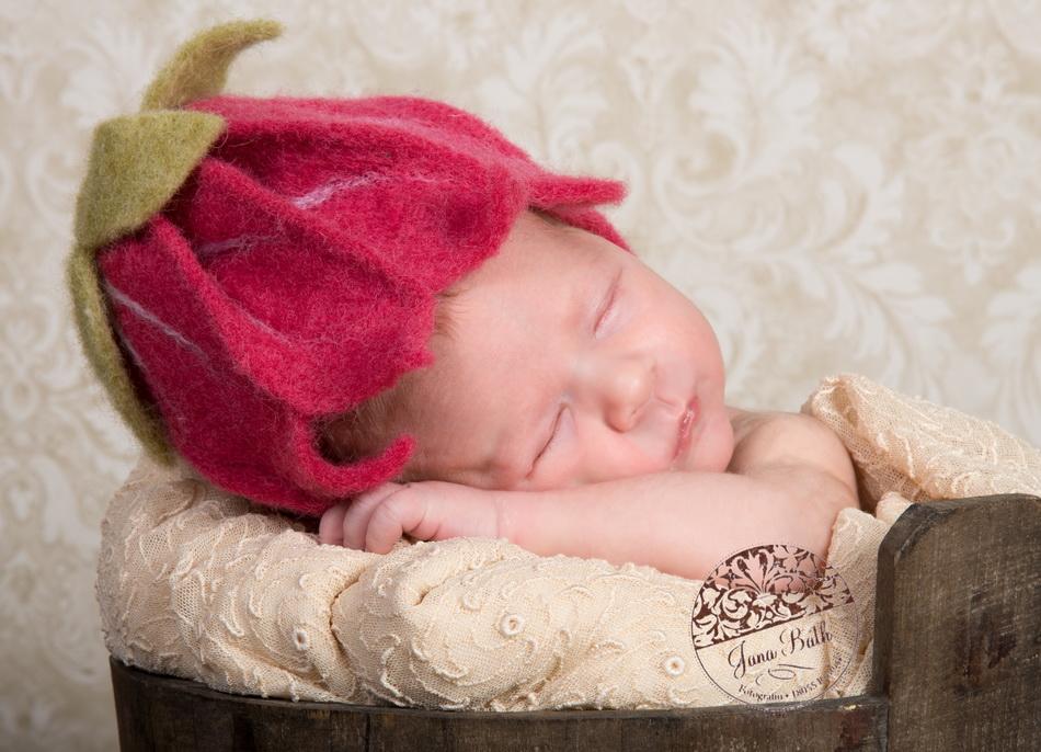 Newborn Mädchen 2 Wochen jung