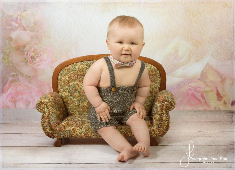 8 Monate alter Wonneproppen - Foto Jana Bath 2017