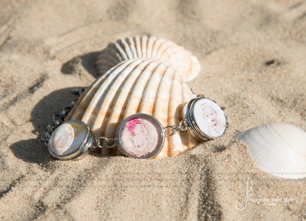 Zartes 3-fach Armband inkl. 3 personalisierte Pins, 25,- Euro - Foto Jana Bath Rostock