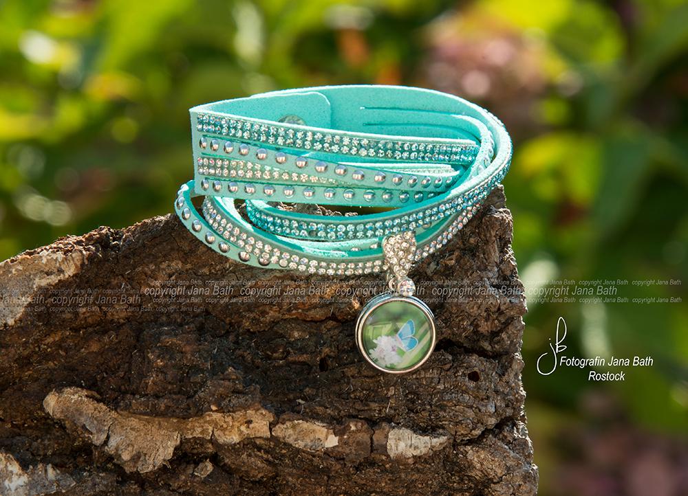 Personalisierter Schmuck - Jana Bath 2017 - Armband mint