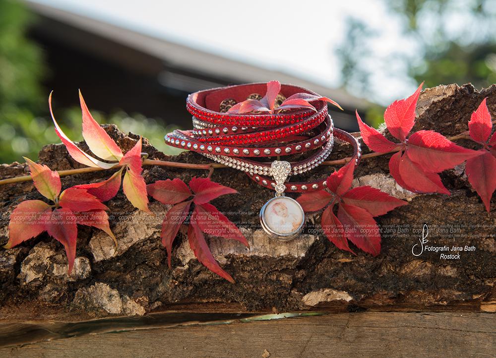 Personalisierter Schmuck - Jana Bath 2017 - Armband rot