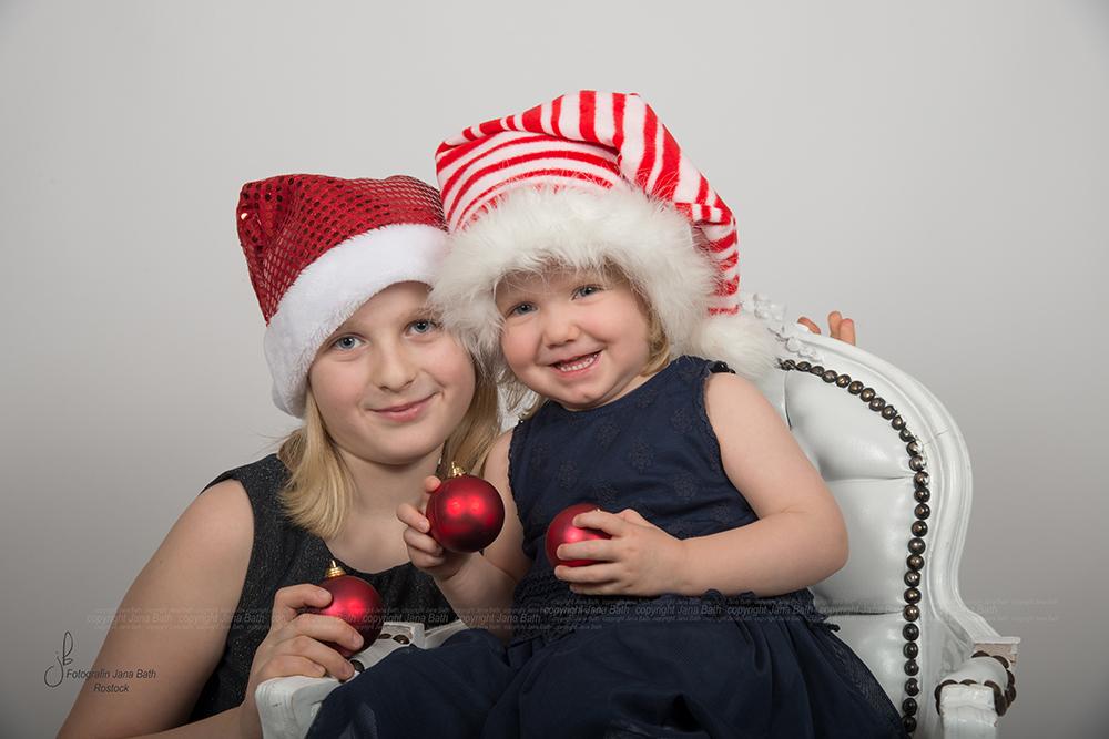 Weihnachtliches Kinderbild im Original - Foto Jana Bath