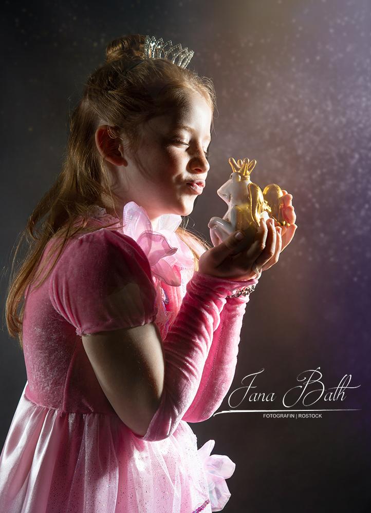 Märchenshooting- Prinzessin küsst Frosch